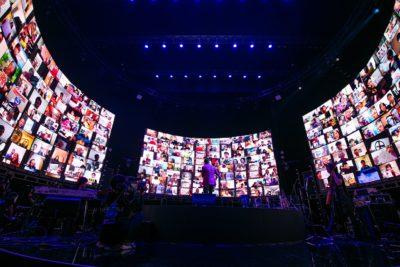 IMAGICA EEXとIMAGICA Lab.が『⻑渕剛 初のオンラインライブ ALLE JAPAN(エールジャパン)』にて観客参加型360度巨⼤LEDビジョンによる映像演出を担当LINE LIVEで過去最高の10万人超動員