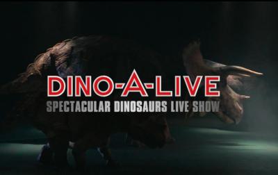 12月11日(金)から開催される『ディノアライブの恐竜たち展』内の 巨大ビジョンへ超高精細な恐竜映像コンテンツを提供!
